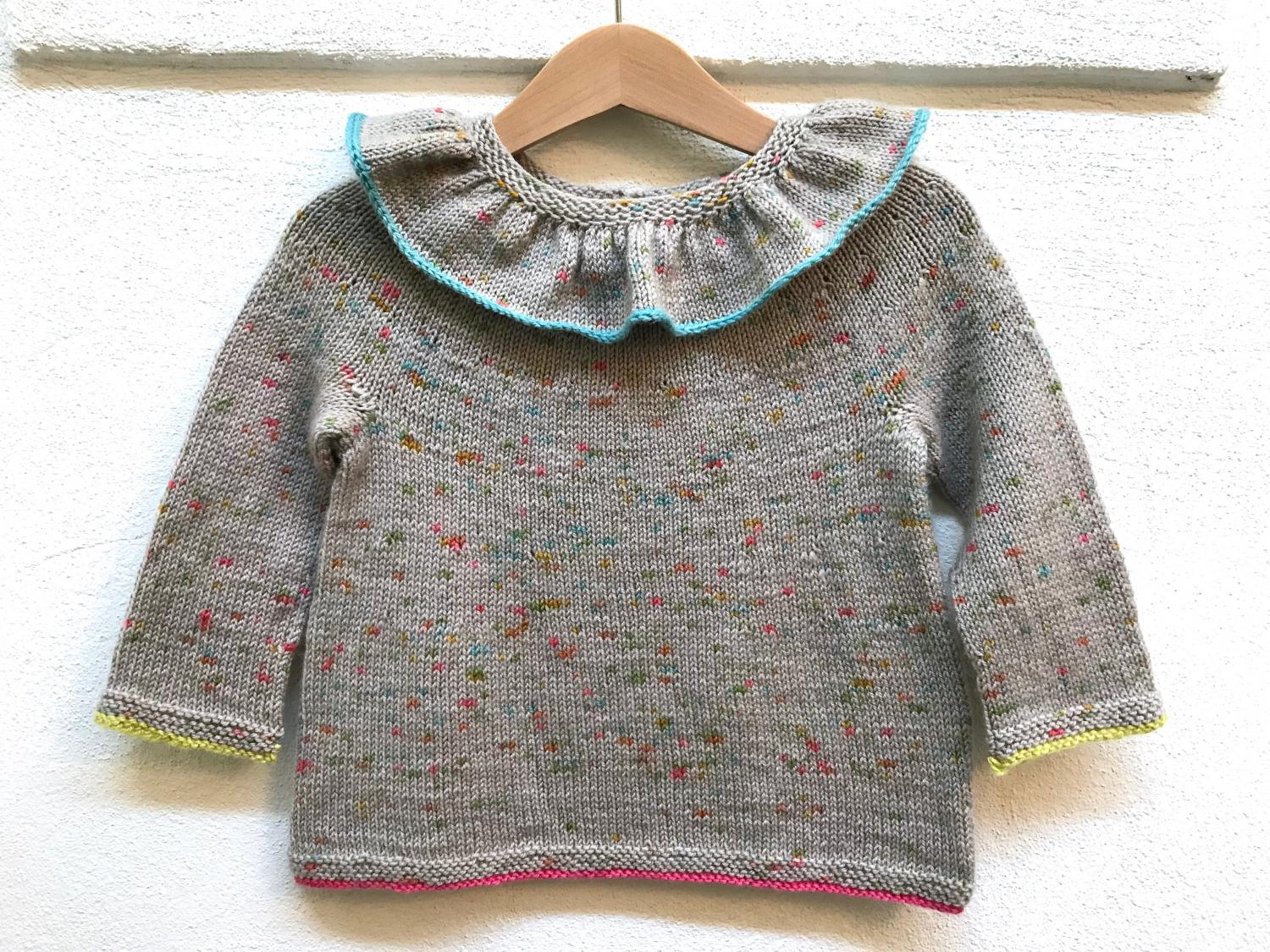 Petite Cécile (English Version)   Magliamania Hand Dyed Yarns